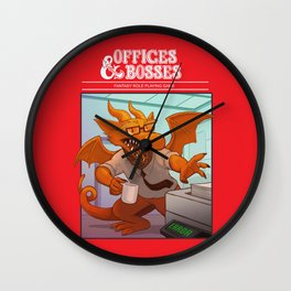Offices & Bosses Wall Clock