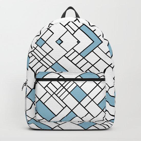 PS Grid 45 Sky Blue Backpack