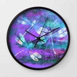 Mauritius Dragonflies WW Wall Clock