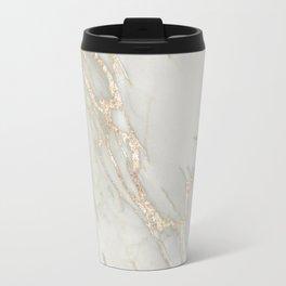 Marble Love Bronze Metallic Travel Mug