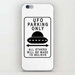 UFO Parking iPhone Skin