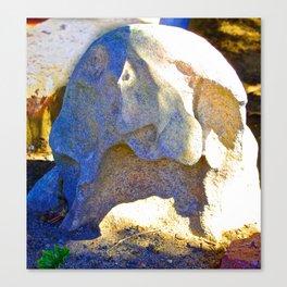 Warrior Rock Canvas Print