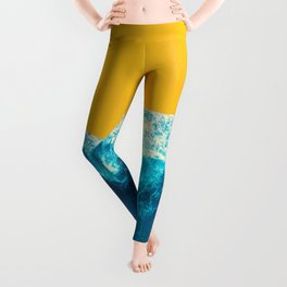 Yellow Tide Leggings