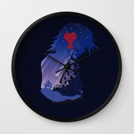 The Many Faces of Games: Kingdom Hearts Riku Ver. Wall Clock