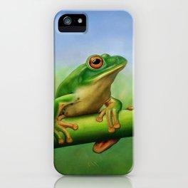 Moltrecht's Green Treefrog iPhone Case