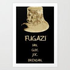 This Is Not A Fugazi Poster Art Print