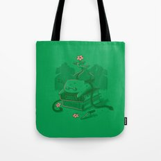 The power of knowledge Tote Bag