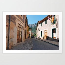 Calles Art Print
