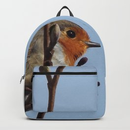 Beautiful robin Backpack