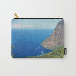 Petit Piton, Pitons Bay, Soufrière Quarter, Saint Lucia Carry-All Pouch