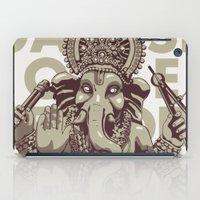ganesh iPad Cases featuring Ganesh by _MattVector