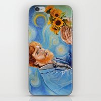 benedict iPhone & iPod Skins featuring Vincent/Benedict by Cap'n Blowfish