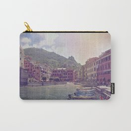 A Little Fishing Village In Italy Carry-All Pouch