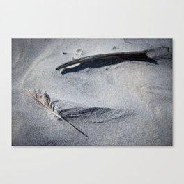 silent conversation Canvas Print
