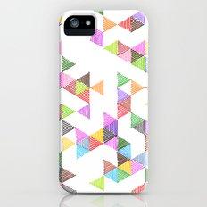 Technicolour Raindrops iPhone (5, 5s) Slim Case