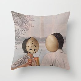 the greatest story Throw Pillow