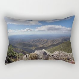 Brown's Peak Arizona Landscape - Four Peaks Rectangular Pillow
