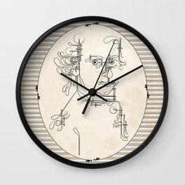 Custom made Mozart Wall Clock