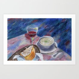The Perfect Meal Art Print