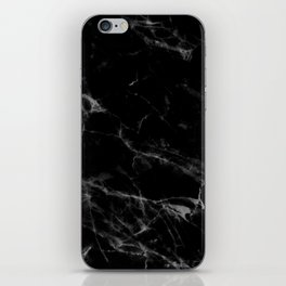 Black Marble iPhone Skin