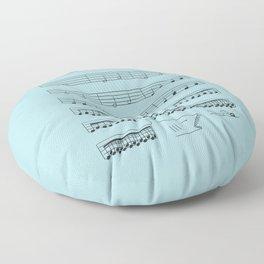 Jaws Floor Pillow