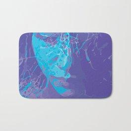 Girl in Blue Bath Mat