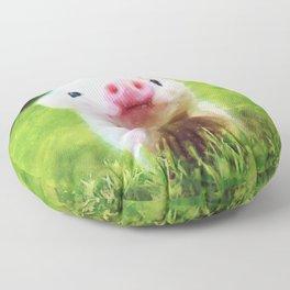 CUTE LITTLE BABY PIG PIGLET Floor Pillow