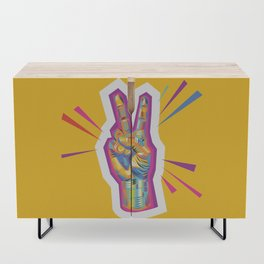 Peace as a Light of Hope Credenza