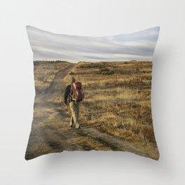 Camino to Santiago de Compostela, Spain Throw Pillow