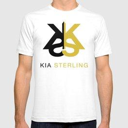 Kia Sterling Black/Gold T-shirt