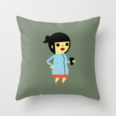 Anna (Alt) Throw Pillow