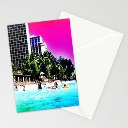 Waikiki Beach Reflection part III Stationery Cards