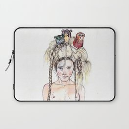 Owls in the head Laptop Sleeve