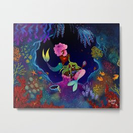 Girl, I got you! Metal Print