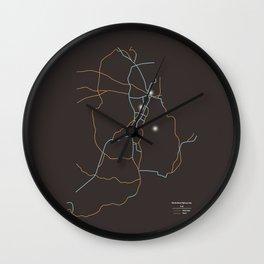 Rhode Island Highways Wall Clock