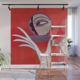 """Art Deco Design """"Compact - Vanities"""" Wall Mural"""