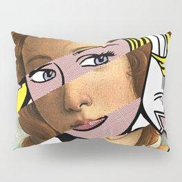 Botticelli's Venus & Roy Lichtenstein's M...Maybe Pillow Sham