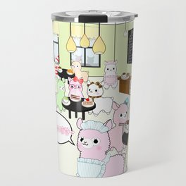 Alpaca Dreams Café  Travel Mug
