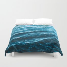 Wanderful Waves Duvet Cover