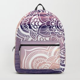 Water Mandala Amethyst & Mauve Backpack