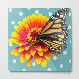 The Monarch Butterfly Metal Print