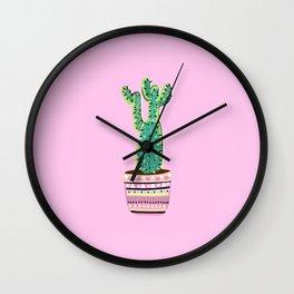 Cactus Love - 2 Wall Clock