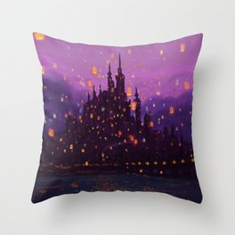 Portrait of a Kingdom: Corona  Throw Pillow