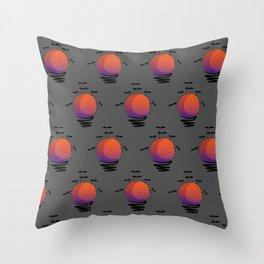Batcus Throw Pillow