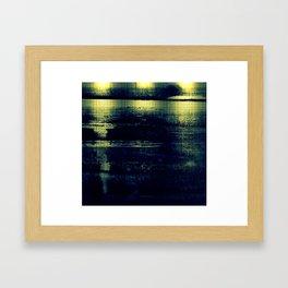 metallic Framed Art Print