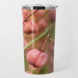 Pink fruits Travel Mug