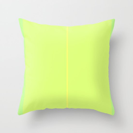 Re-Created ONE No. 33 by Robert S. Lee Throw Pillow