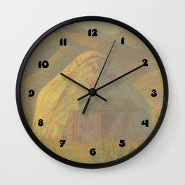 Yurt Wall Clock