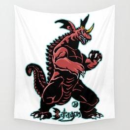 Baragon Kaiju Print FC Wall Tapestry