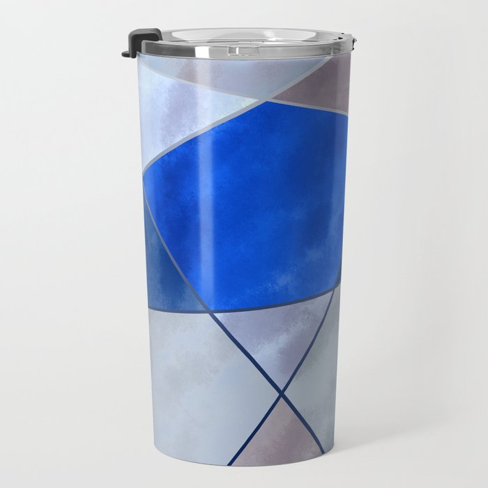 Concrete and Glass Travel Mug